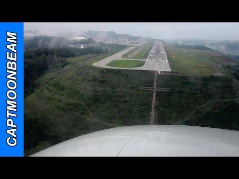 Patchy Fog, Citation Bravo Landing at Charleston, WV:  Yeager Airport