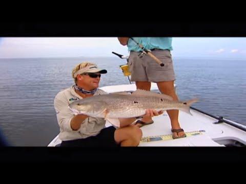 Redfishing In Louisiana Capt Ryan Lambert Cajun Fishing Adventures