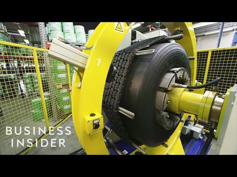 How Old Tires Are Retreaded So They Can Be Used Again