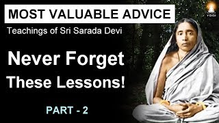 Most Valuable Advice for Spiritual Seekers - 2 (Never Forget These Lessons!)