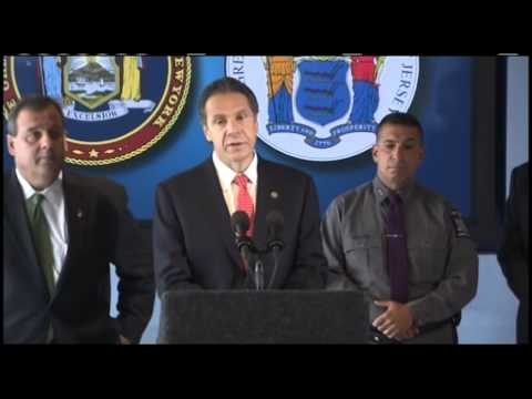 Governors Cuomo and Christie Sign Bi-State Memorandum of Understanding to Increase Security