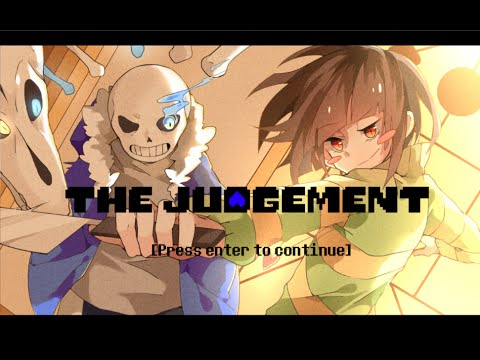 (Undertale) The Judgement: Sans vs Chara 2D fighting Game