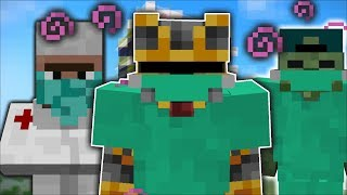 Minecraft MC NAVEED AND MARK FRIENDLY ZOMBIE BECOME A DOCTOR FOR THE DAY !! Minecraft Mods