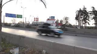 شاهدوا لحظة مرور موكب الرئيس بوتفليقة عبر الطريق السريع