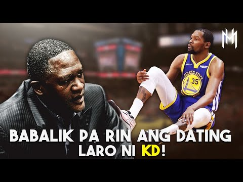 DAHILAN Kung Bakit Babalik Pa Rin Ang Dating Laro Ni KEVIN DURANT