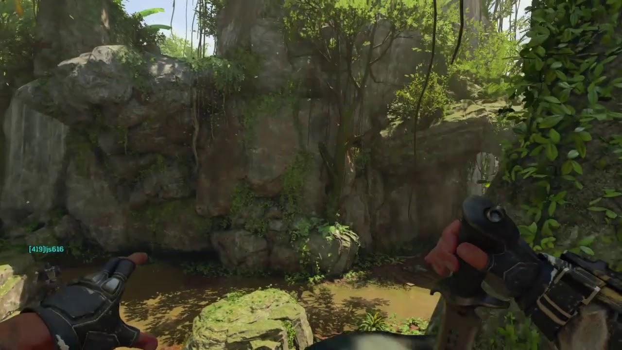 The Black Ops 4 axe throw