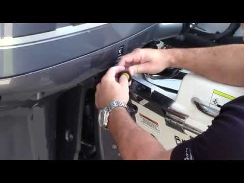How to perform a static flush on a Yamaha Outboard motor