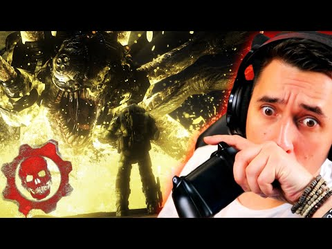 Marcus Fenix Is Now My DAD! - Gears Of War For The FIRST Time. (Part 2)