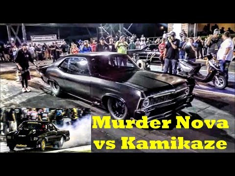 Murder Nova vs Kamikaze at the Memphis Street Outlaws No Prep