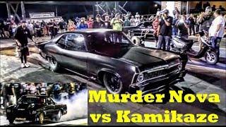 Murder Nova vs Kamikaze at the Memphis Street Outlaws No Prep