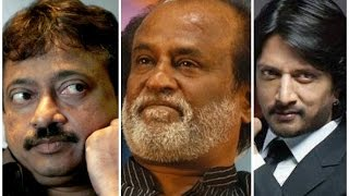 Rajinikanth Can't Act Like Sudeep - Ram Gopal Varma