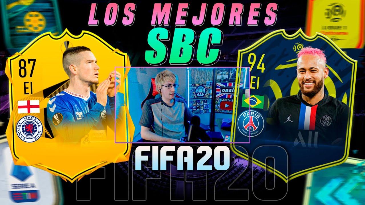 ¡LOS MEJORES SBC's DE FIFA 20!