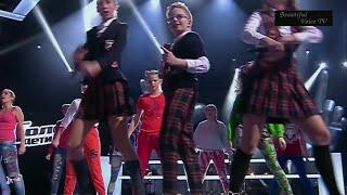 Xenia/Eduard/Valeria.'Hideawey'.The Voice Kids Russia 2015.