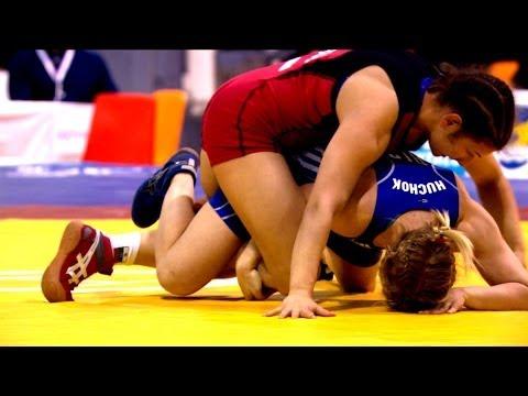 58Kg Bronze 1 - Women Wrestling -  European Championships 2014