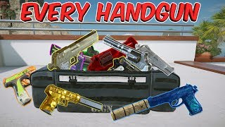 ALL 18 HANDGUNS in Tom Clancy
