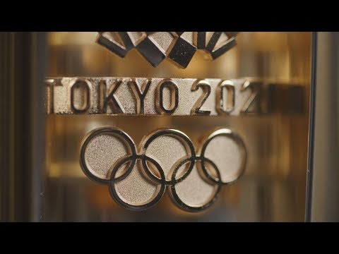 A first look at the Tokyo 2020 Olympic torch | Japan welcomes the world
