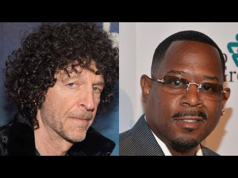 Howard Stern DISRESPECTS Martin Lawrence In His Face The Entire Interview?!?!