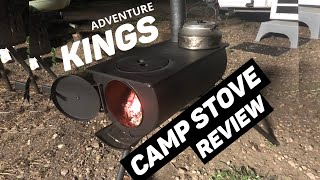 Adventure KINGS CAMP STOVE REVIEW