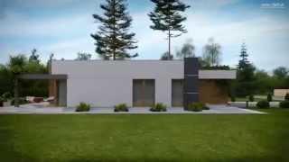 видео Дом из бруса 8 на 9 ДБ-46