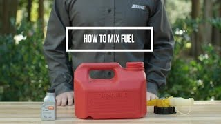 How to Mix Oil and Gas