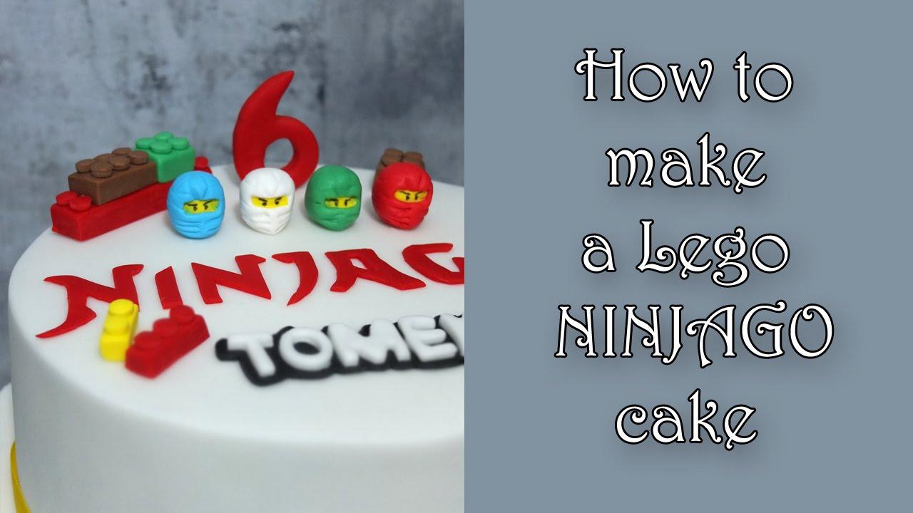 How To Make A Lego Ninjago Cake Jak Zrobić Tort Z Lego