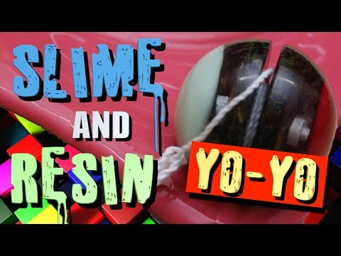 MAKE A SLIME AND RESIN YOYO **Handmade Toys**