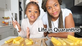 A Day in our life in Quarantine | Vegan Cooking, Homeschooling...