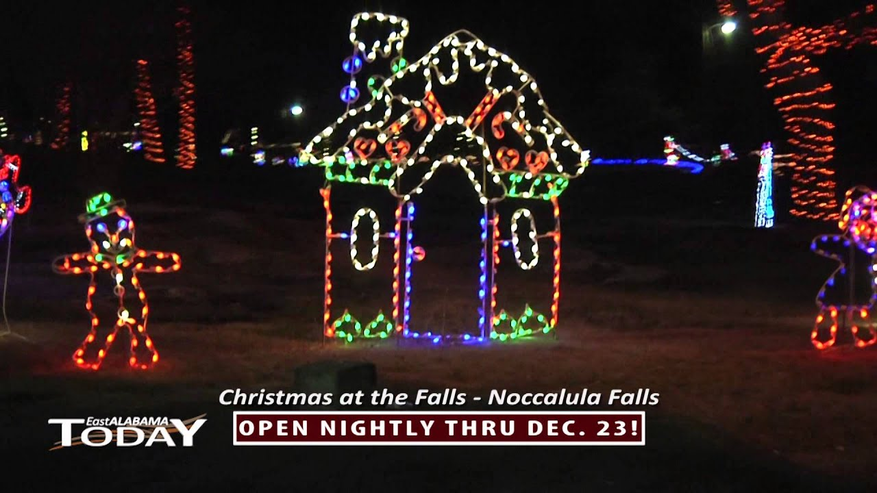 East Alabama Today - Christmas at the Falls 2014 - YouTube