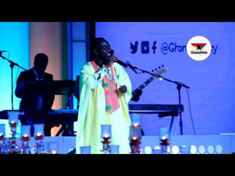 Pat Thomas, Okyeame Kwame and Adoma perform at 2017 Ghana Legacy Honours