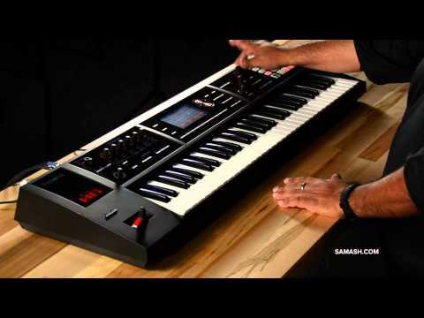 Roland FA-06 Music Workstation - Sampler Overview