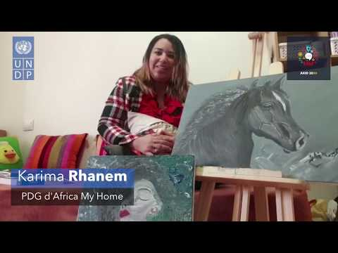 AKID2030 - Message de solidarité de Karima Rhanem