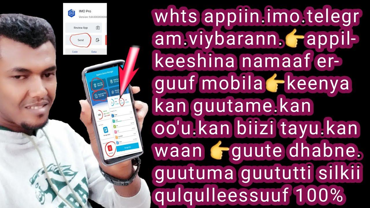 Download Appikeeshina whatas app walii erguuf silkii waan guute wallaaltan qulqullesuf guutumaa guututti mobi