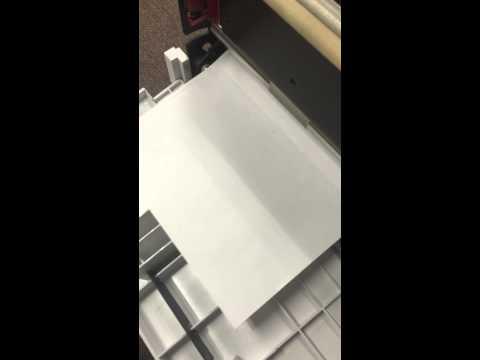 Elite II Correct Paper Load