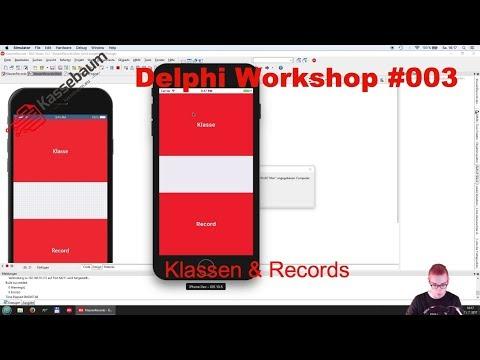 Klassen & Records  -  Delphi Workshop #003