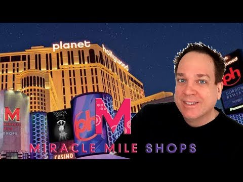 Miracle Mile Restaurants Planet Hollywood Vegas Food Tour - Where to Eat!