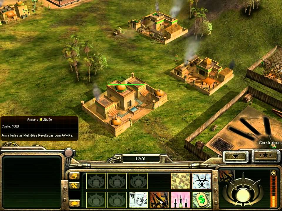 Command & Conquer Generals Gameplay [HD] - YouTube