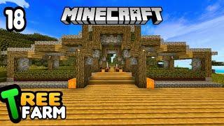 TREE FARM =BIAR HUTAN GA GUNDUL= #18|| Minecraft Survival Indonesia