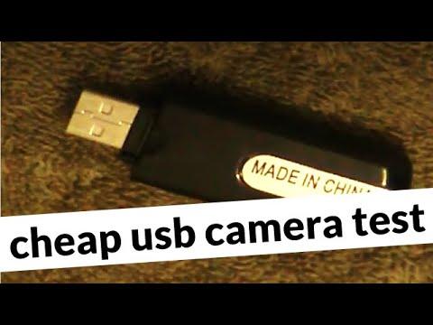 Testing A 15 Dollar USB Drive Video Camera