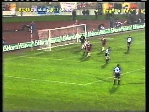 1998 (September 17) MSV Duisburg (Germany) 1-KRC Genk (Belgium) 1 (Cup Winners Cup)