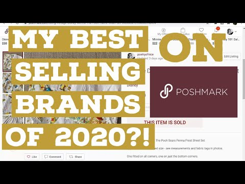 My TOP TEN Best Selling Brands on POSHMARK in 2020! | My Most Frequently Sold Brands on Poshmark