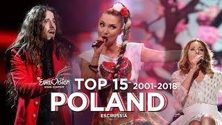 Poland in Eurovision - Top 15 (2001-2018)