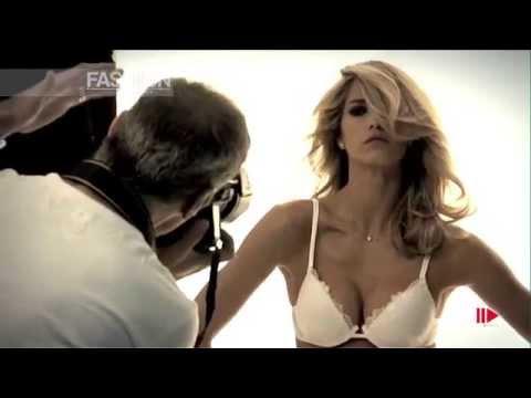 Elena Santarelli for INFIORE Basic Collection Backstage Photoshoot