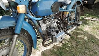 Разборка мотоцикла Днепр МТ!  Работа пошла:)