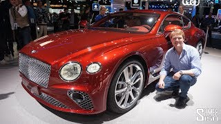 FIRST LOOK at the NEW Bentley Continental GT