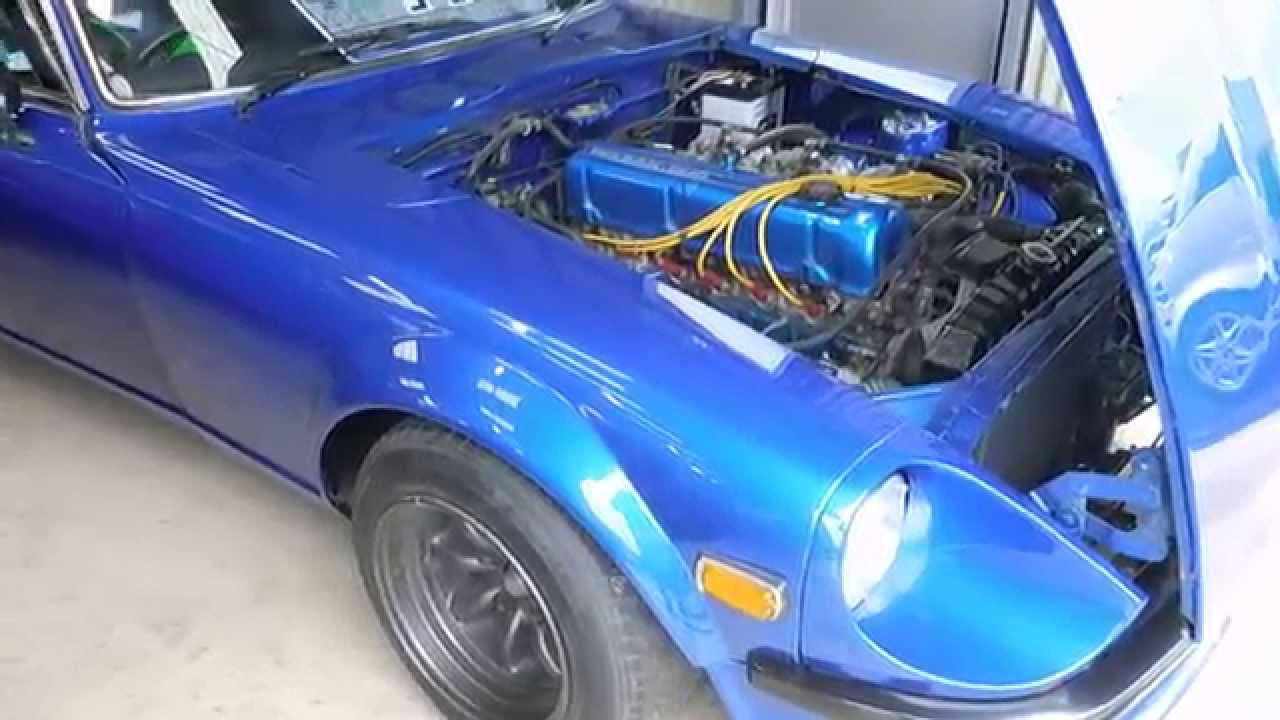 Inspecting The Nissan Fairlady Devil Z S30 Blue Beast From