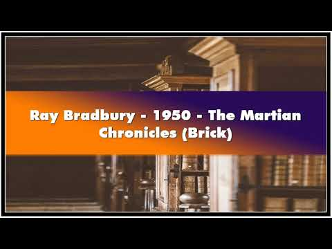 Ray Bradbury 1950 The Martian Chronicles Brick Audiobook