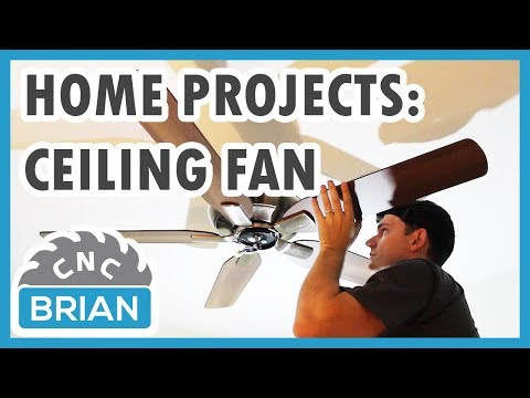 home-projects:-ceiling-fan-install-with-no-existing-wiring