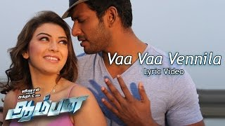 "Vaa Vaa Vennila - ""AAMBALA"" OFFICIAL LYRIC VIDEO"