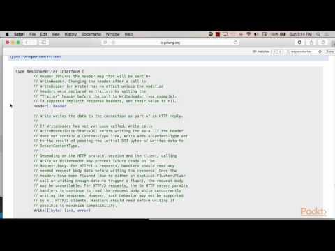 Mastering Go Programming : Web Server Applications in Go | packtpub.com