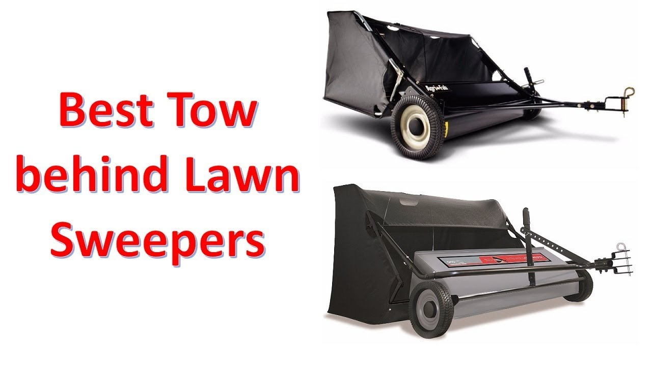 Top 10 Best Tow Behind Lawn Sweepers 2020 Update Youtube